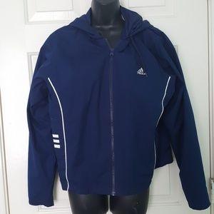 Royal blue Adidas sport jacket